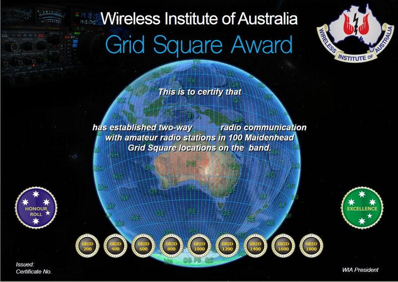 The wireless institute of australia grid square award gumiabroncs Choice Image