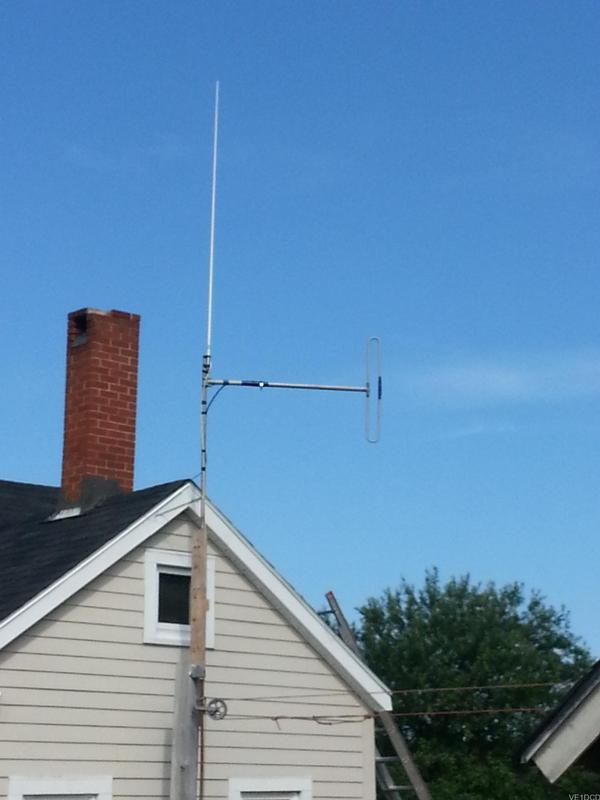 Use of concrete in amateur antennas